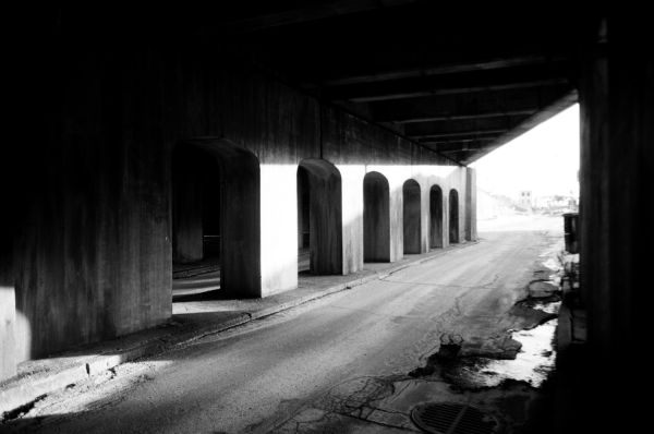 Underpass in Montreal.