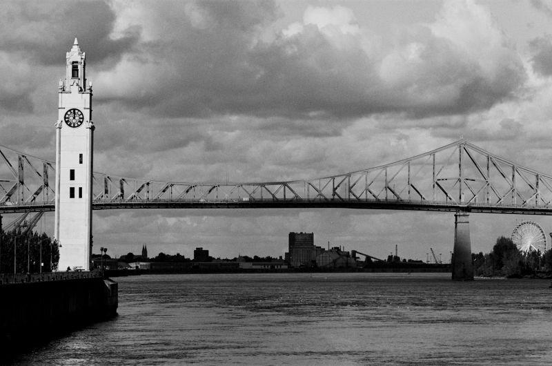 Quai de l'horloge, pont Jacques-Cartier
