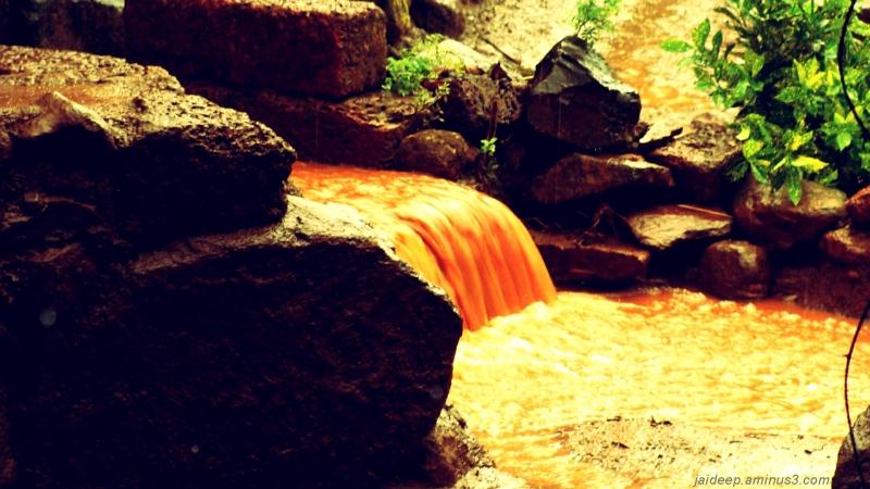 rain water muddy