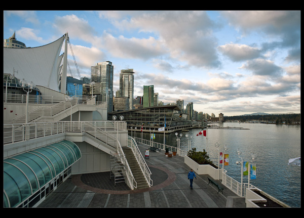 Canada Place at dawn