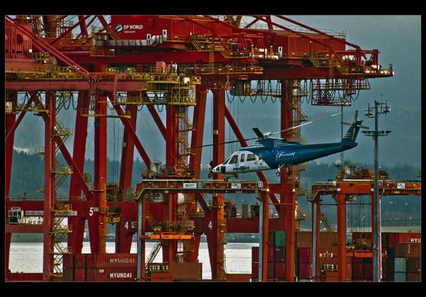 Chopper n' cranes