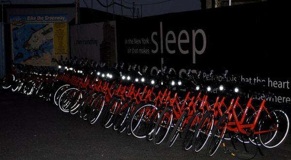 New York battery Park bikes