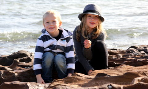 Maddi and Kyan at Brighton