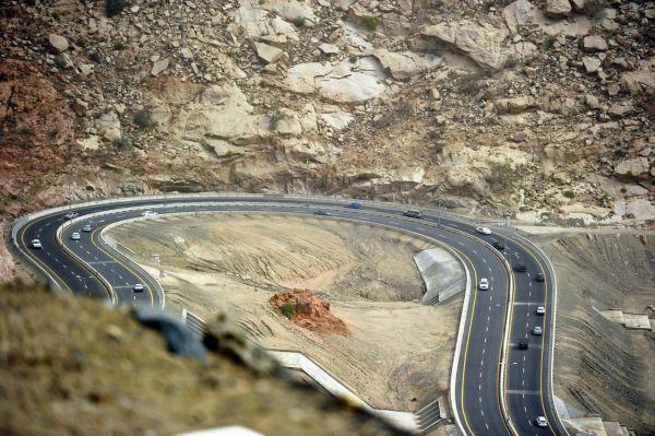 Taif Hada Road view