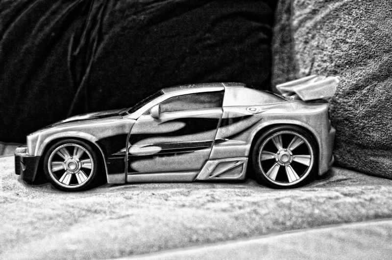 my ford GT in BW
