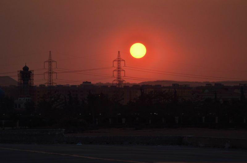 Sheraton Sunset view 2, January 6, 2011