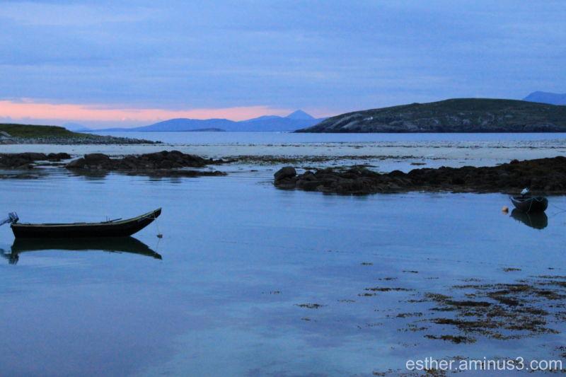 Sunset in Connemara