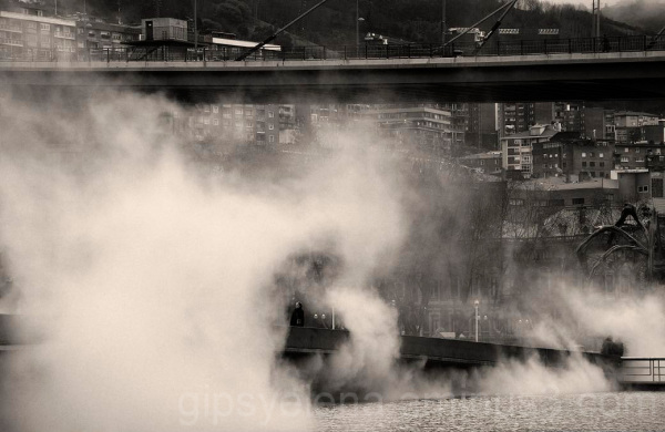 Mistery in the city of Bilbao..