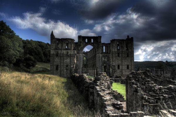 Magical Rievaulx Abbey, North Yorkshire.