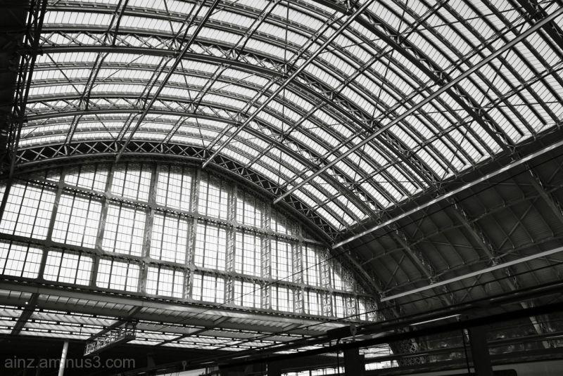 London St Pancras Roof