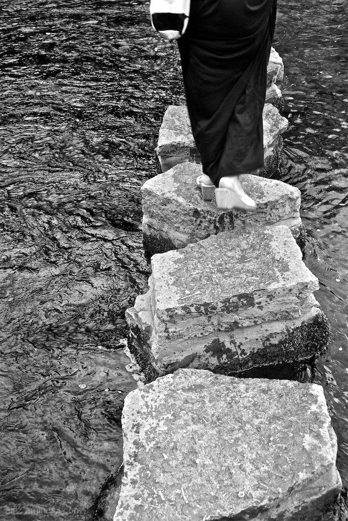 Stepping Across