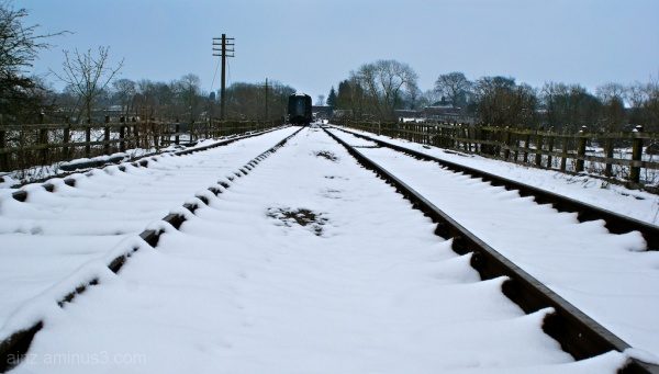 Middle of the tracks