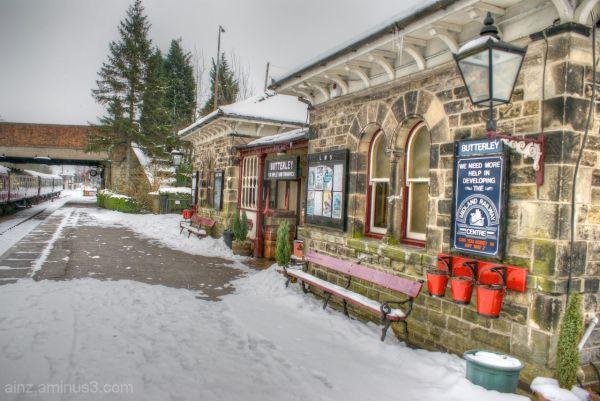 Butterley Train Station
