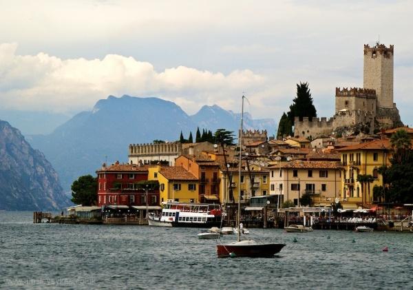 Malcesine, Italy, gardas, garda