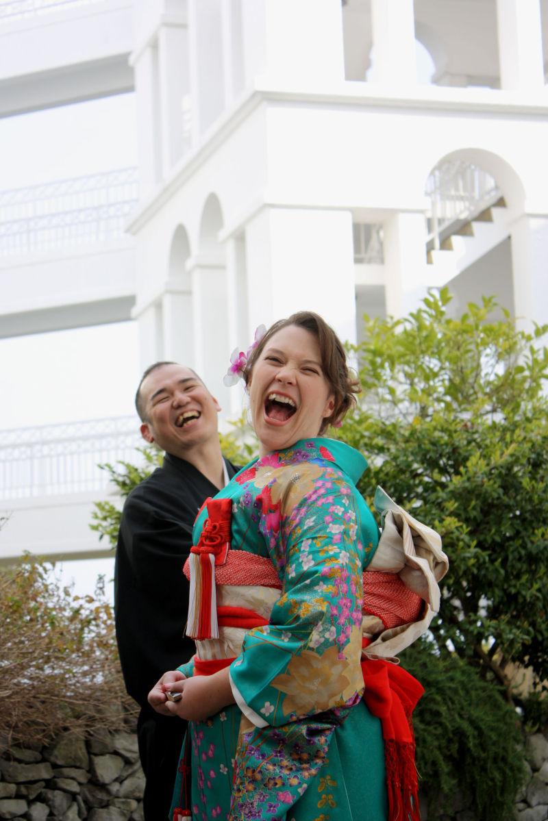 wedding laughs @ nagasaki