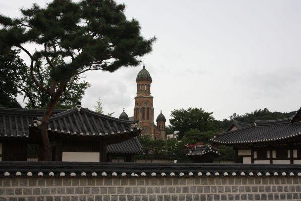 church and shrine @ jeonju