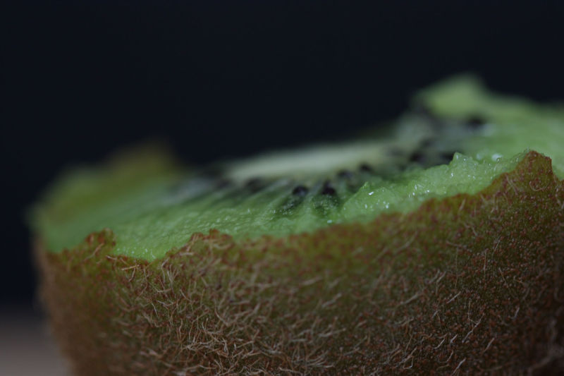 Furry kiwi