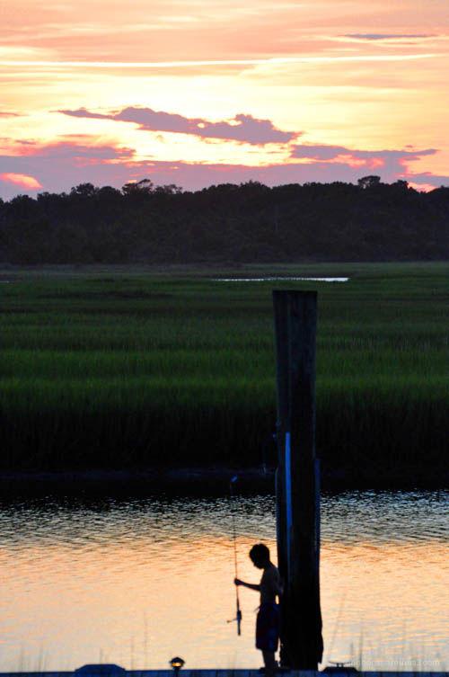 fisherboy, marshside