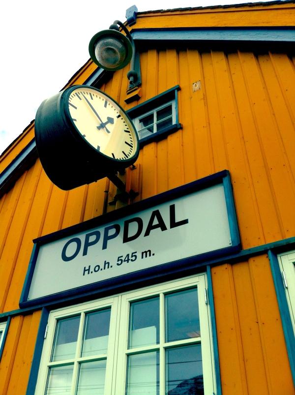 oppdal station