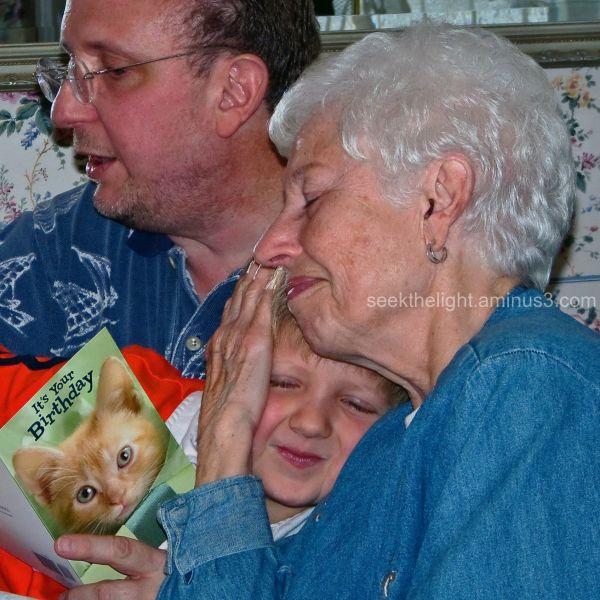 A Hug for Grandma...