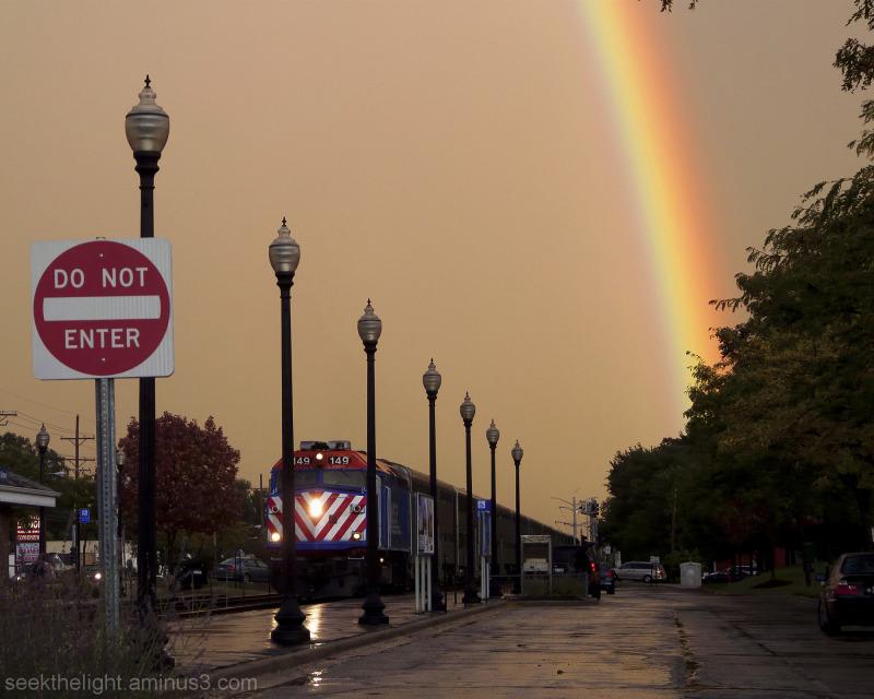 Rainy Day Rainbow