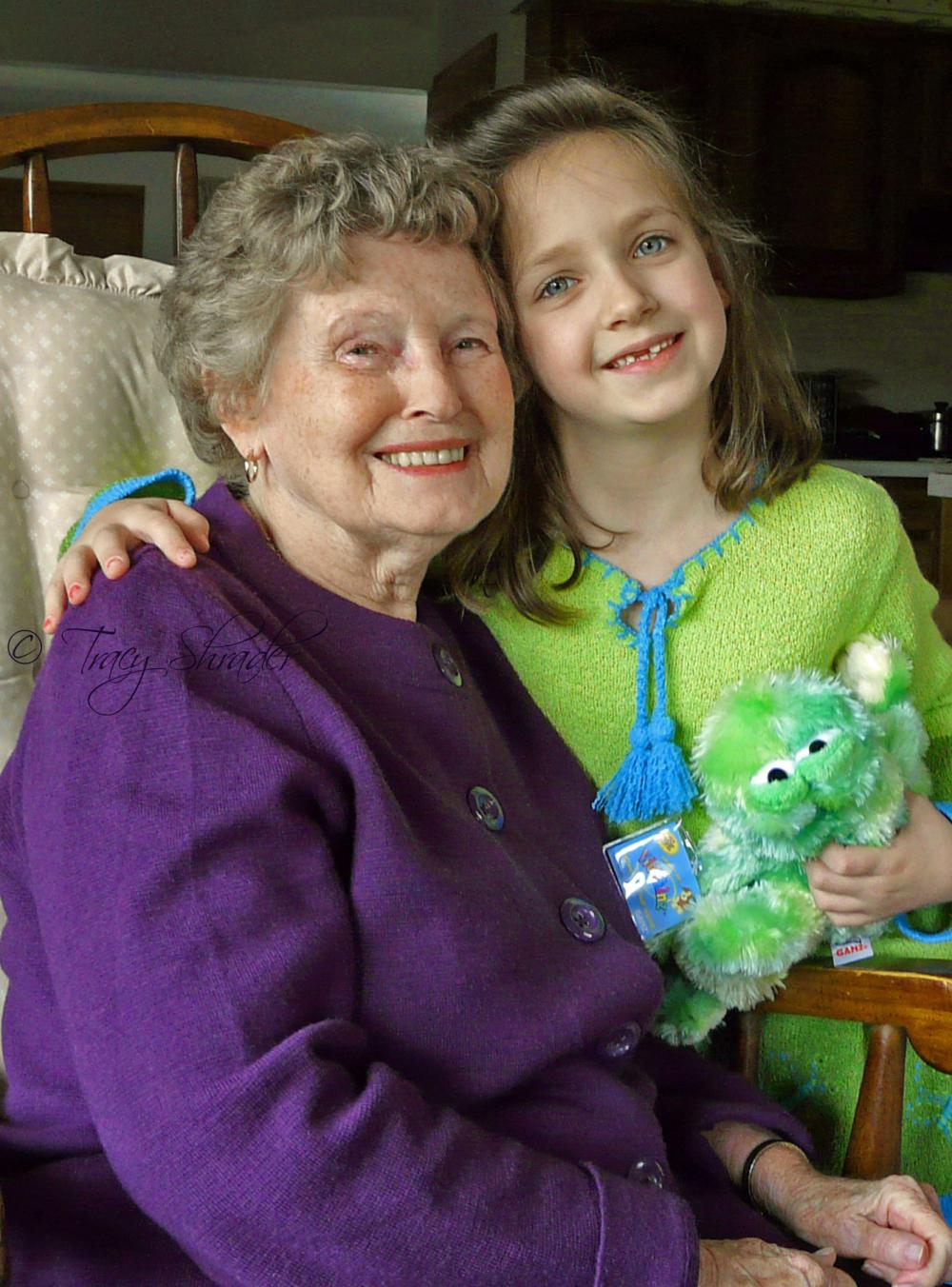 R.I.P. Aunt Bernardine, 1925-2012