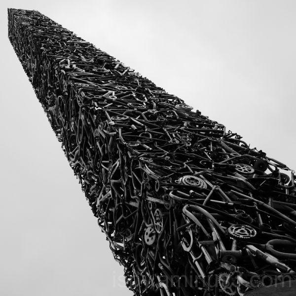 """Cyclisk"" Bike Monument"