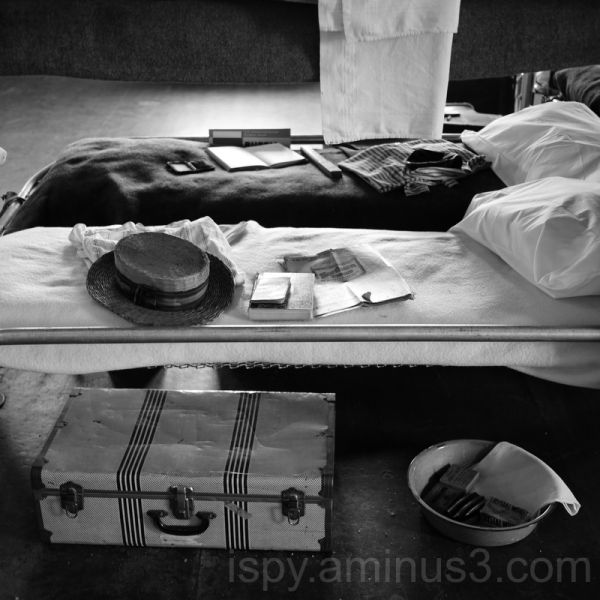 Angel Island Detention Barracks Bunk