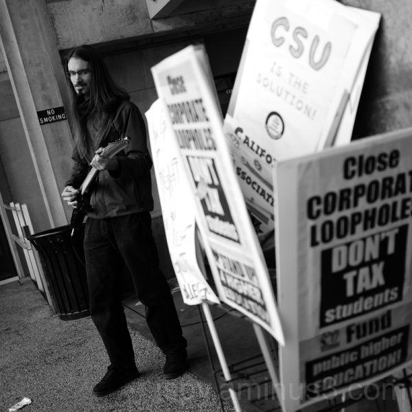 University Protester