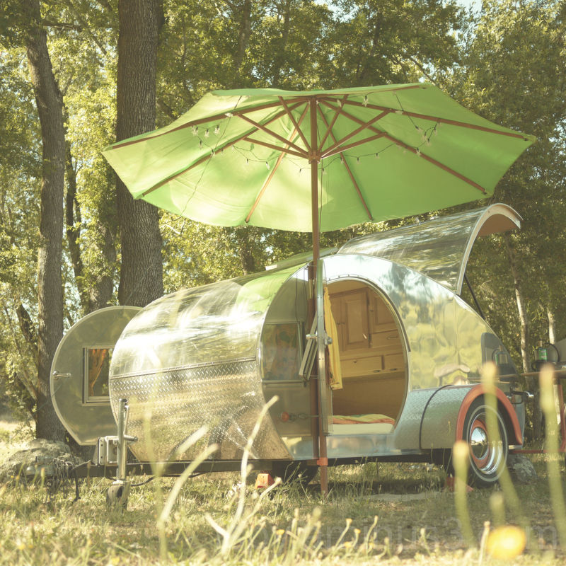 Retro Camping Trailer