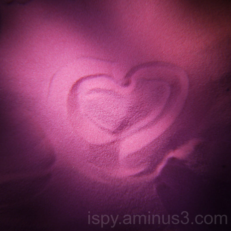 Heart in Pink Sand