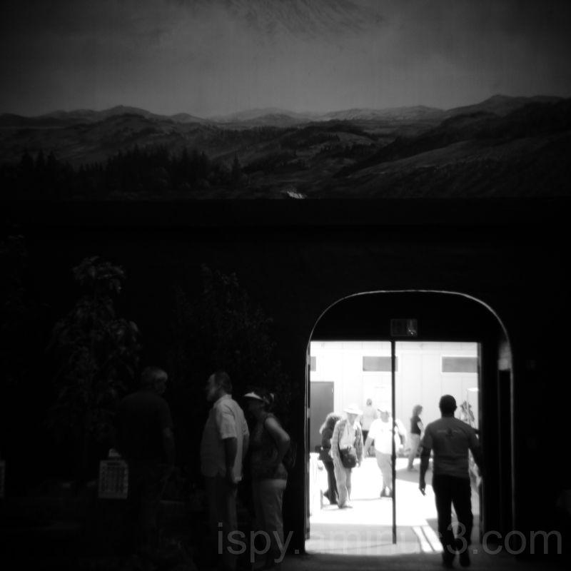 Doorway in the Mountainside