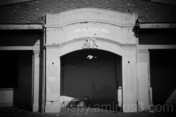Abandoned Healdsburg Depot