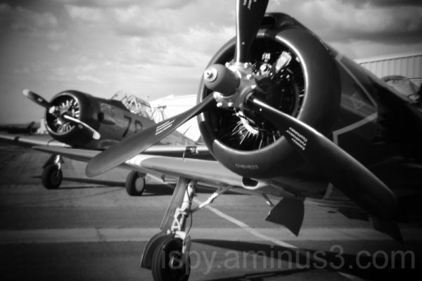 Holga Lens Old Planes