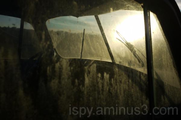 Old Studebaker Windshield