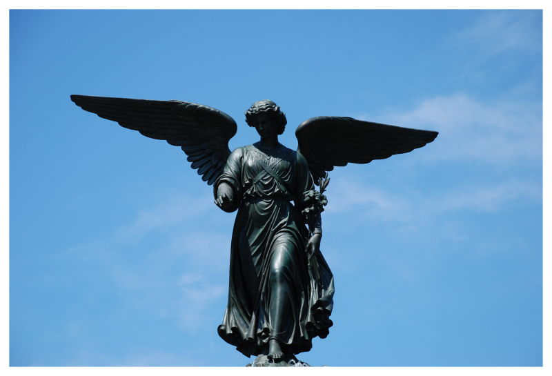 Central Park's angel