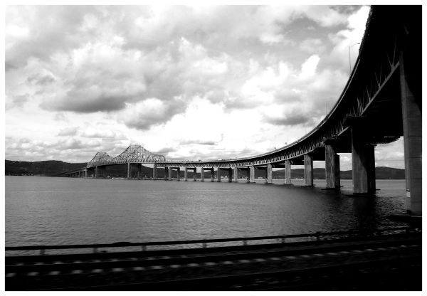 Bridge over Hudson river