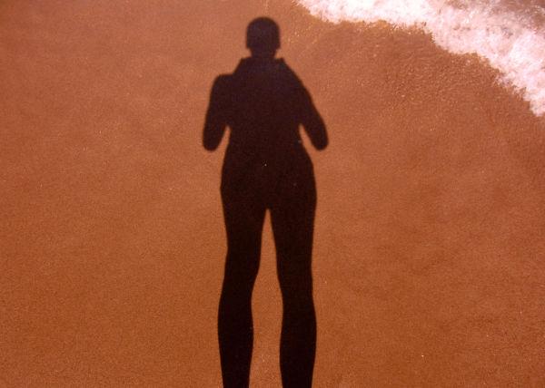 At Las Dunas beach