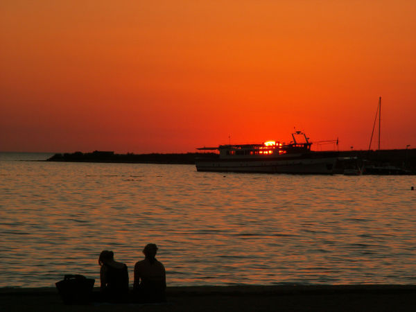 Zaton sunset