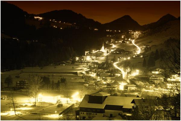 Thiersee at night