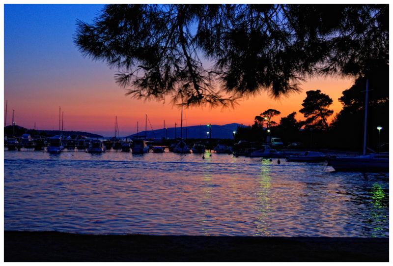 Trogir sunset