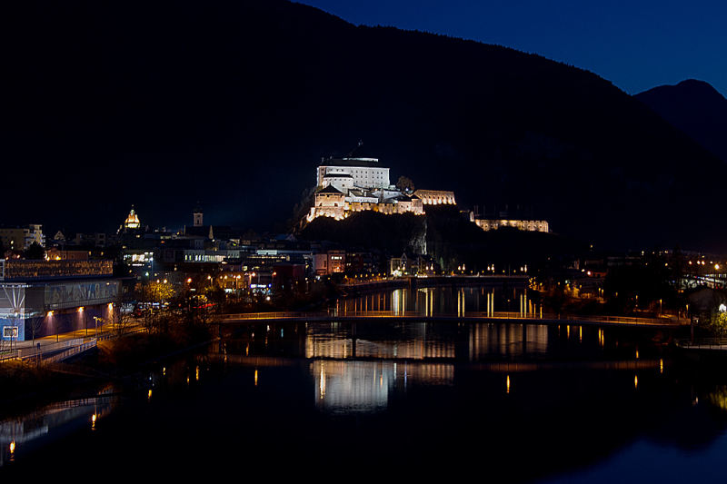Nightshot of Kufstein