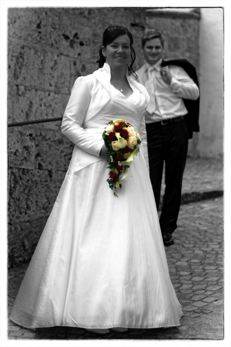 Braut vorne