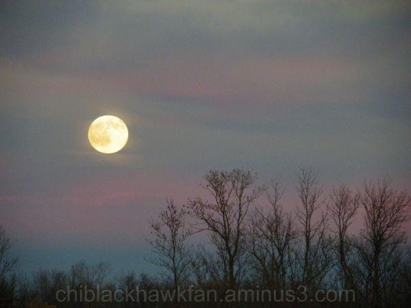Moonrise over Central New York