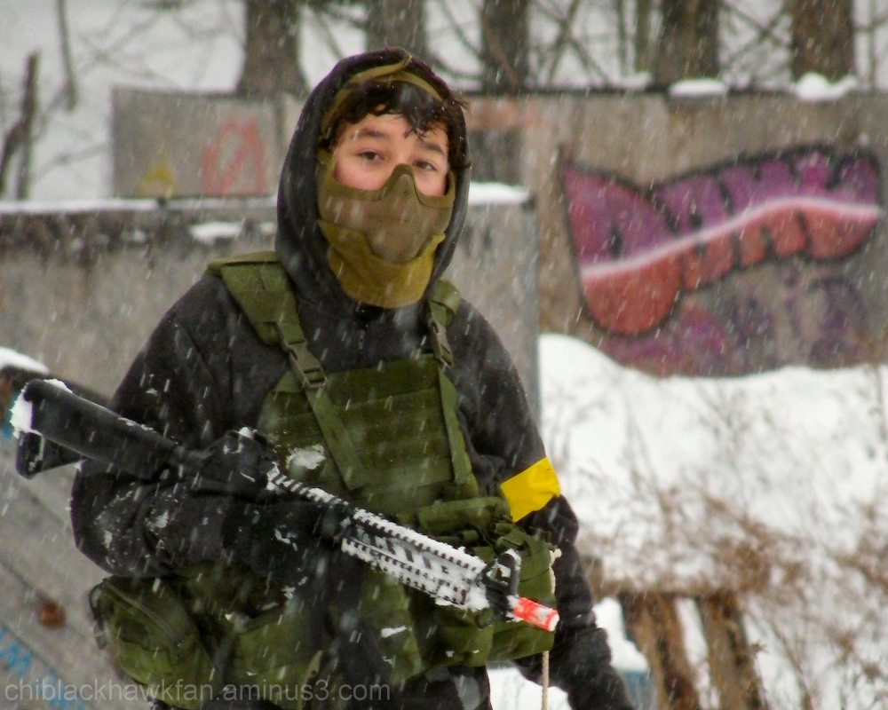 A Day At The Airsoft Field