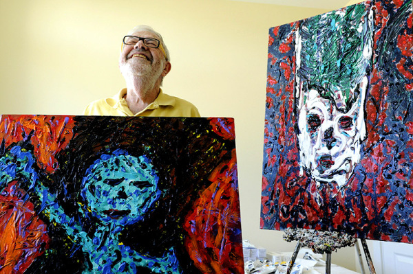 90-year-old artist