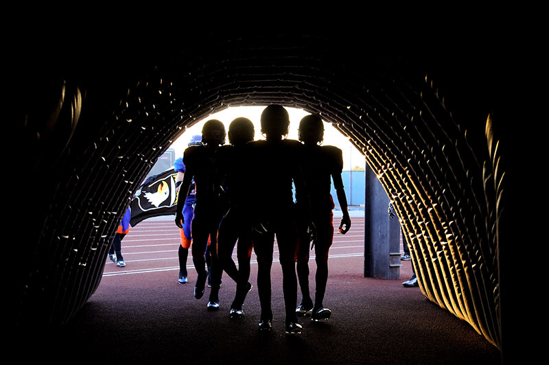 football tunnel - Sport & Recreation Photos