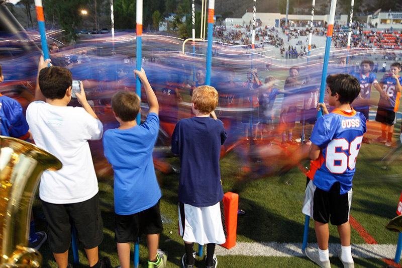 Westlake Runs Onto the Field