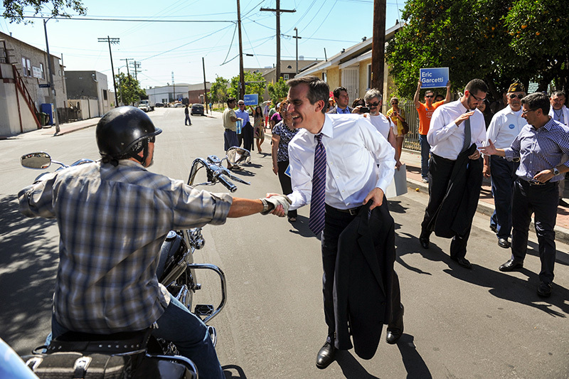 East Los Angeles campaigning