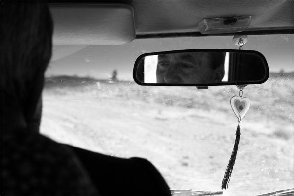 Oldman on Road